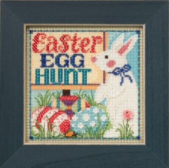 Egg Hunt - Beaded Cross Stitch Kit