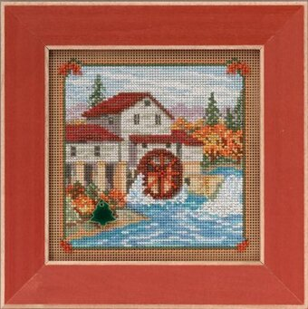 Country Mill - Beaded Cross Stitch Kit