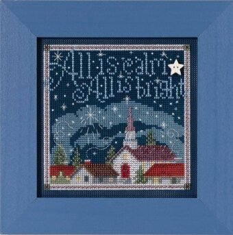 All is Calm (2015) - Beaded Cross Stitch Kit