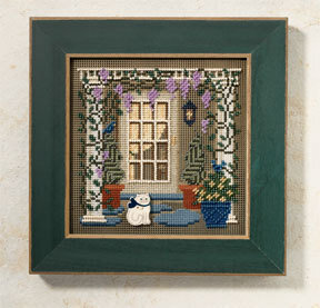 Wisteria Welcome - Beaded Cross Stitch Kit