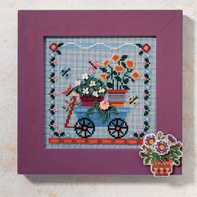 Welcome Wagon - Beaded Cross Stitch Kit