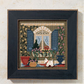 Window Friends - Beaded Cross Stitch Kit