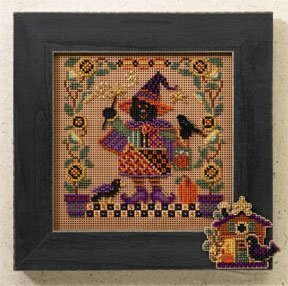 Magic Wanda - Beaded Cross Stitch Kit