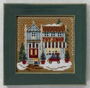 Toy Shop - Beaded Cross Stitch Kit