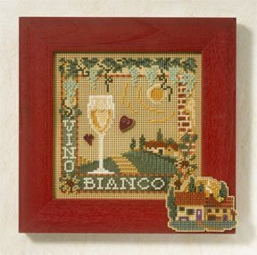 Vino Bianco - Beaded Cross Stitch Kit