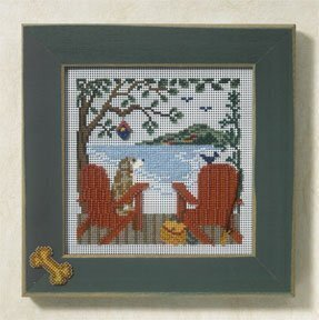 Lakeside Retreat - Beaded Cross Stitch Kit
