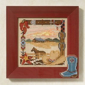 On the Range - Beaded Cross Stitch Kit
