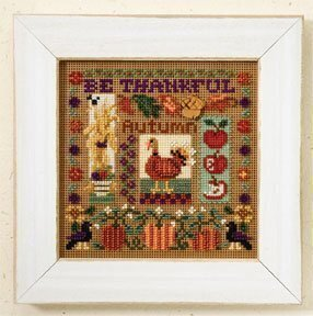 Be Thankful - Beaded Cross Stitch Kit