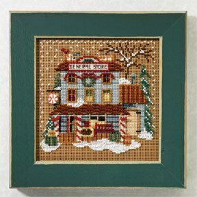 General Store - Beaded Cross Stitch Kit