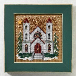 St. Nicholas Cathedral - Beaded Cross Stitch Kit