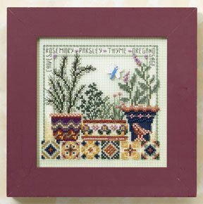 Herb Garden - Beaded Cross Stitch Kit