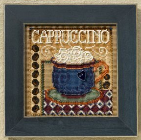 Cappuccino - Beaded Cross Stitch Kit
