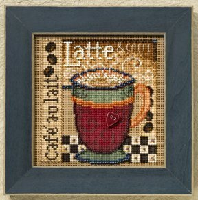 Latte - Beaded Cross Stitch Kit