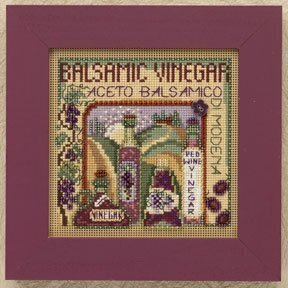 Balsamic Vinegar - Beaded Cross Stitch Kit