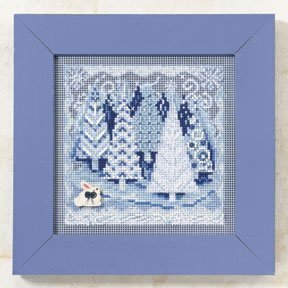 Winter Wonderland - Beaded Cross Stitch Kit