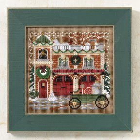 Firehouse - Beaded Cross Stitch Kit