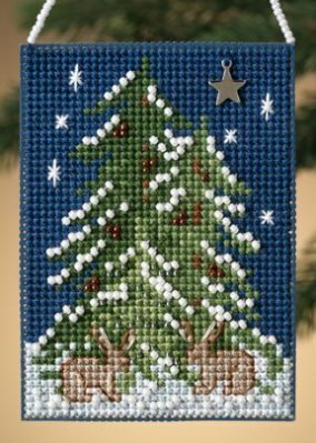Forest Tree - Beaded Cross Stitch Kit