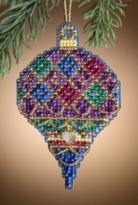 Diamond Holiday - Beaded Cross Stitch Kit