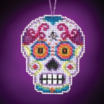 Morado - Beaded Cross Stitch Kit