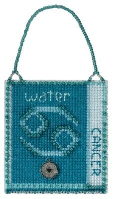 Cancer - Beaded Cross Stitch Kit