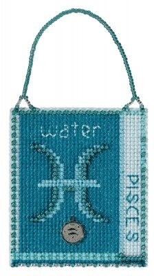 Pisces - Beaded Cross Stitch Kit