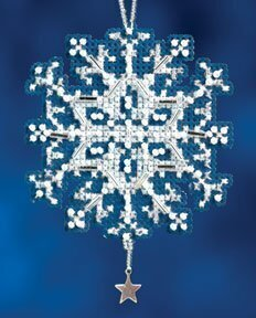 Star Crystal - Beaded Cross Stitch Kit