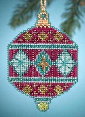 Berry - Beaded Cross Stitch Kit