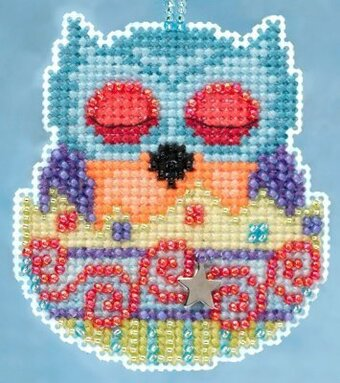 Finn (Owlets) - Beaded Cross Stitch Kit