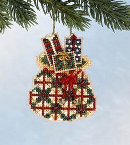 Santa's Sack - Beaded Cross Stitch Kit