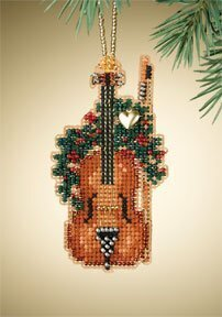 Violin - Beaded Cross Stitch Kit
