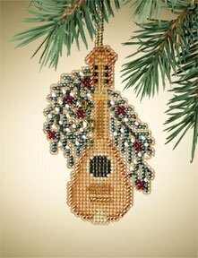 Mandolin - Beaded Cross Stitch Kit
