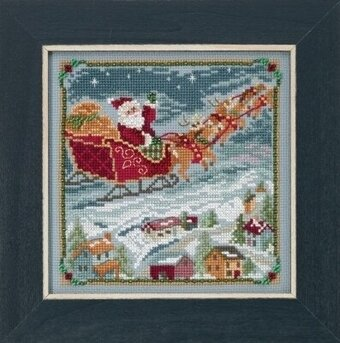 To All A Good Night - Beaded Cross Stitch