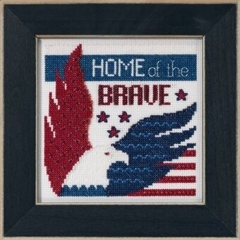Home of the Brave - Beaded Cross Stitch Kit