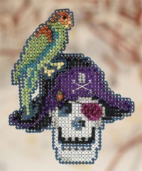 Irate Pirate - Beaded Cross Stitch Kit