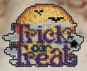Lunar Trick - Beaded Cross Stitch Kit