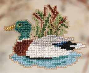 Mallard - Beaded Cross Stitch Kit