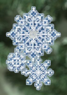 Muriel Berceville - Snowflake angels (cross stitch)