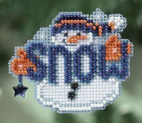 Snow Buddy - Beaded Cross Stitch Kit