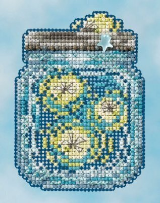 Fireflies - Beaded Cross Stitch Kit
