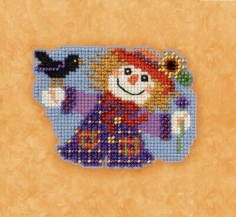 Sally Scarecrow - Beaded Cross Stitch Kit