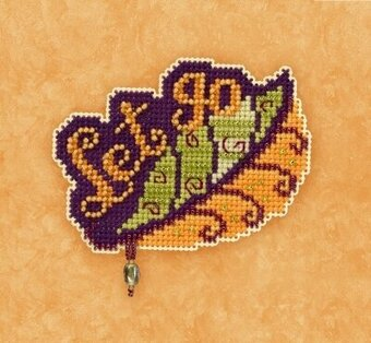 Let Go - Beaded Cross Stitch Kit