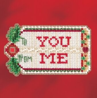 Gift Tag - Beaded Cross Stitch Kit