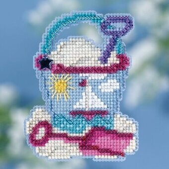 Beach Bucket - Beaded Cross Stitch Kit