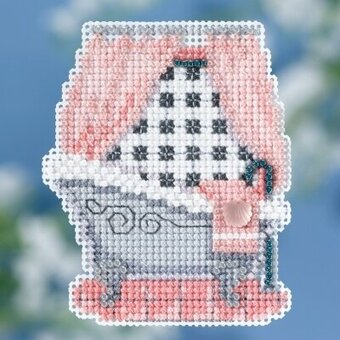 Classic Bathtub - Beaded Cross Stitch Kit