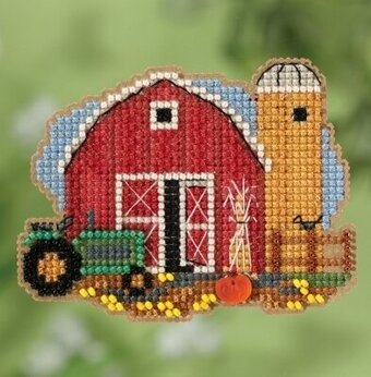 Harvest Barn (2018) - Beaded Cross Stitch Kit