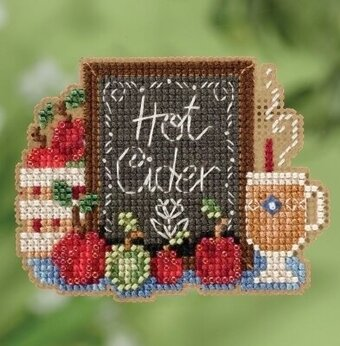 Hot Cider (2018) - Beaded Cross Stitch Kit