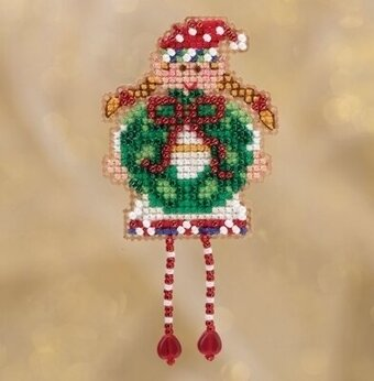 Holli Elf - Beaded Cross Stitch Kit