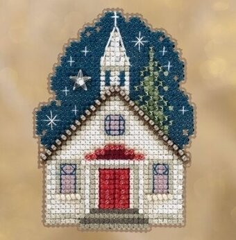 Sunday Night - Beaded Cross Stitch Kit