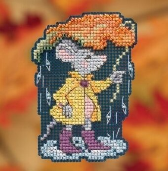 Rainy Weather - Beaded Cross Stitch Kit