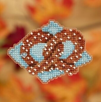 Pretzel - Beaded Cross Stitch Kit
